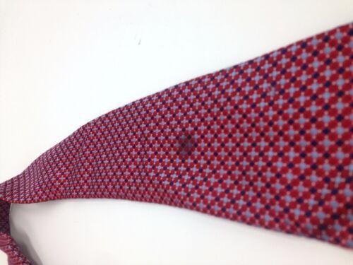 Details about  /$125 Tommy Hilfiger Men Silk Blue White Check Tie Slim Classic Necktie 60x3.25