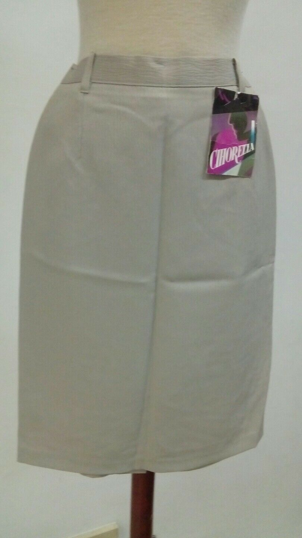 Bonita good SKIRT woman Size 40 summer straight NEW Ref. 2.1.7
