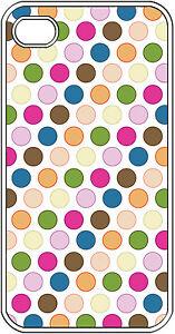 Multi-Color-Polka-Dot-Designed-iPhone-4-4s-Hard-Case-Cover