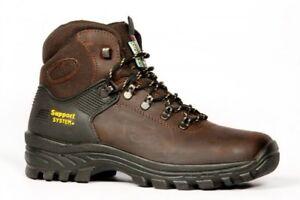sale retailer 3c350 c7c4b Dettagli su SCARPONI DA trekking GRISPORT 10242 pelle scarponcini di CACCIA  PESCA BOOTS