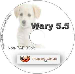 Details about Linux Lite 2 0 & Wary Puppy 5 5 32 bit 2 Fast & Lightweight  Operating Systems