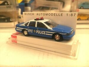 BUSCH-47608-CHEVROLET-CAPRICE-NYPD-POLICE-USA-1-87
