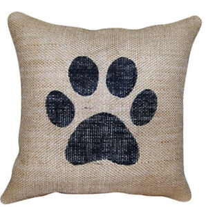 Image Is Loading Dog Paw Pet Home Decor Living Sofa Couch