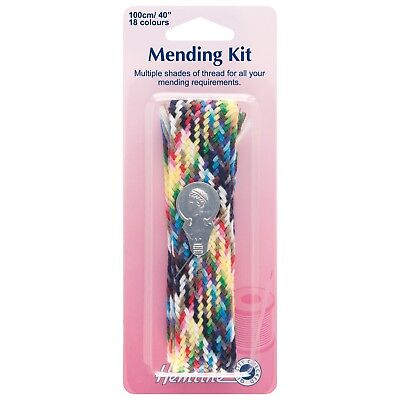 H239 Hemline Mending Kit Plait Sewing Thread Needle Threader Sewing Needle