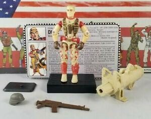 Original-1992-GI-JOE-DUKE-V3-ARAH-not-Complete-UNBROKEN-figure