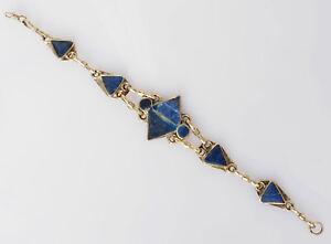 orient-Nomaden-Lapis-Armband-Neusilber-Vintage-afghan-nomadic-bracelet-B