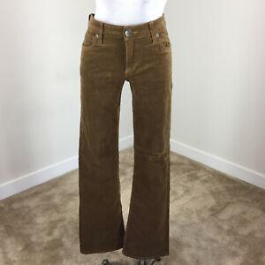 1b4a7f958e8 Kut from the Kloth 6 Karen Baby Bootcut Micro Corduroy Pants brown ...
