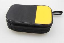 Double Layer Zipper Carrying Case Fluke Multimeters 15b 17b 18b 115 116 117 175
