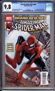 Amazing-Spider-Man-546-CGC-Graded-9-8-NM-MT-1st-Jackpot-Marvel-Comics-2008