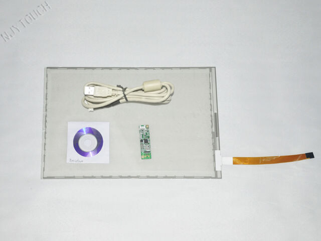 """15.4 Inch 5 Wire Resistive Touch Screen Panel Kit USB 16:10 for 15.4"""" LCD Panel"""