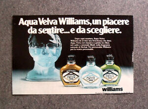 [GCG] I757 - Advertising Pubblicità -1979- AQUA VELVA WILLIAMS