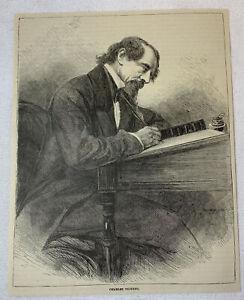 1885-Rivista-Incisione-Charles-Dickens