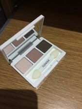 Clinique All About Eye Shadow Trio AC French Roast AG Nude Rose Ivory Bisque