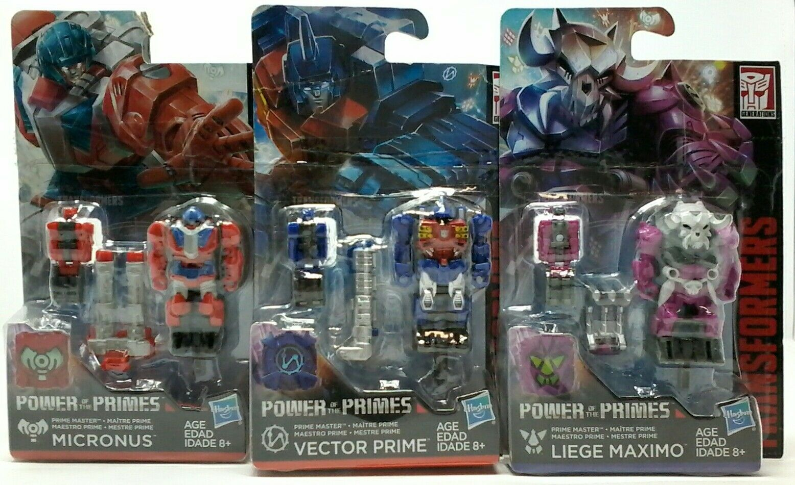 Generations Transformers Power of the Primes Prime Masters Bundle of 3