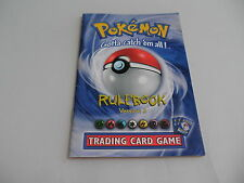 Pokémon Trading Card Game Rulebook Version 3 Game Boy Gameboy Color Manual only