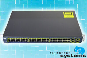 Cisco-Catalyst-3560-Network-Switch-48x-10-100-4SFP-Slot-WS-C3560-48TS-S