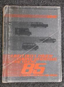 1985 GMC Suburban C10 C20 K10 K20 Electrical Wiring ...