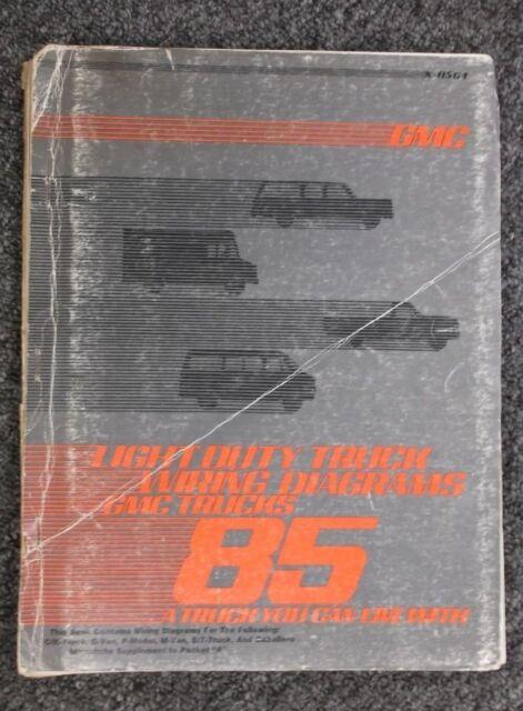 1985 Gmc Suburban C10 C20 K10 K20 Electrical Wiring