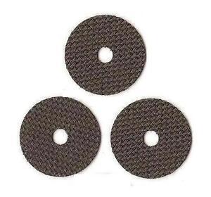 3 DAIWA REEL PART Crossfire 155-3iB Smooth Drag Carbontex Drag Washers #SDD161