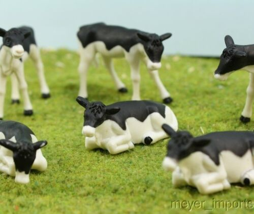 6 Pieces Holstein Calf Set G Scale 1//32 Scale