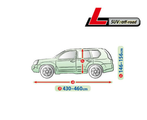 Autoabdeckung Ganzgarage Vollgarage Autoplane L für Hyundai ix35 Atmungsaktiv