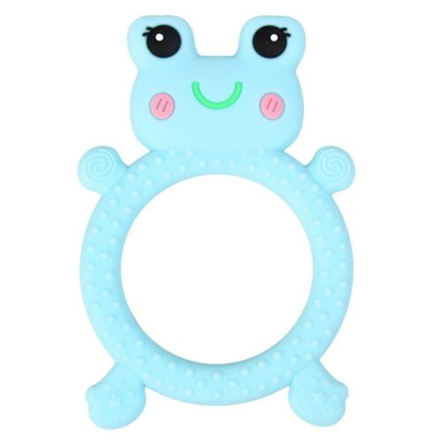 Baby Teether Pacifier Cartoon Animal Teething Nursing Silicone Infant Chew Gift