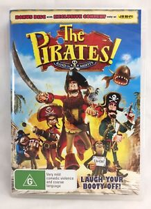 The-Pirates-Band-of-Misfits-2-disc-DVD-set-R2-4-5-Rated-G