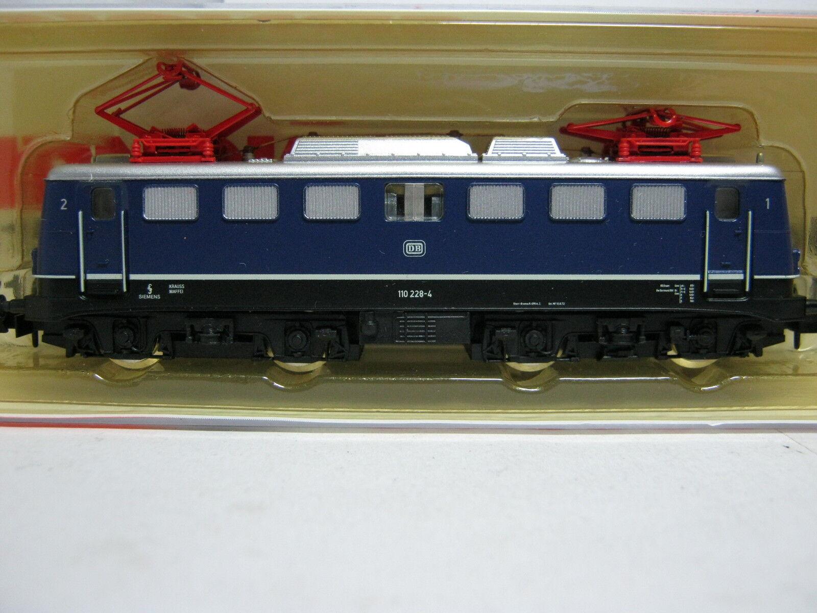 Arnold N 2303 Elektro Lok BR 110 DB BLU modello speciale (rg br 61s2)