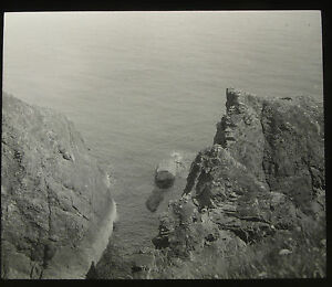 68-Lantern-Glass-Slide-Sea-Cliffs-Place-Unknown-Cornwall-Photo-pre1920s