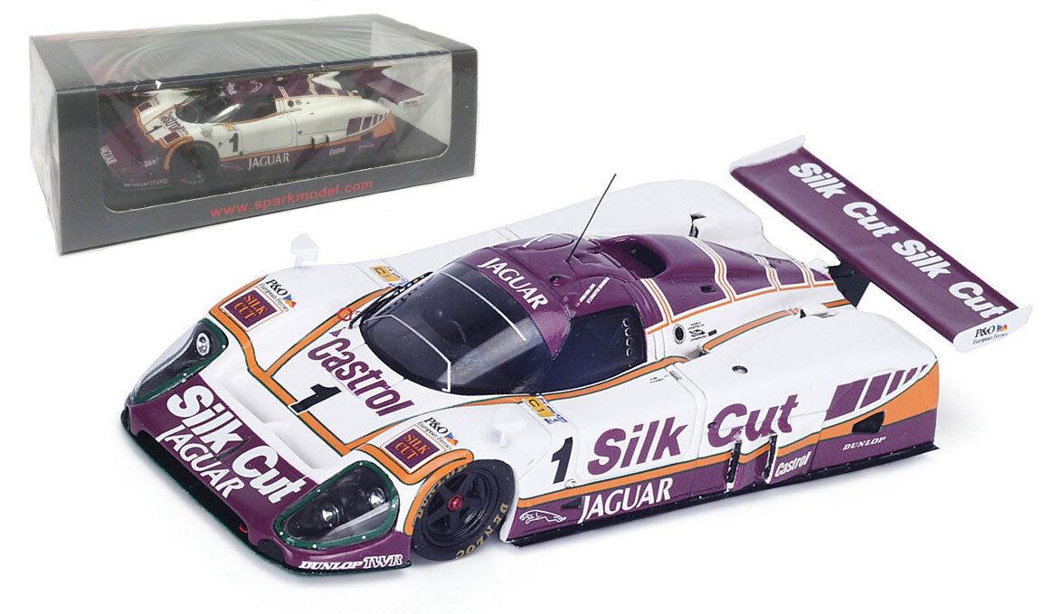 Spark S4717 Jaguar XJR9 'Silk Cut' Le Mans 1988 - 1 43 Scale