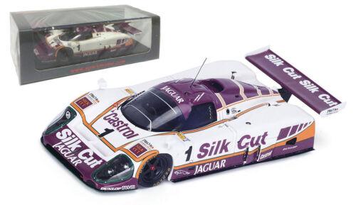 Spark S4717 Jaguar XJR9 #1 /'de seda de corte/' Le Mans 1988-escala 1//43