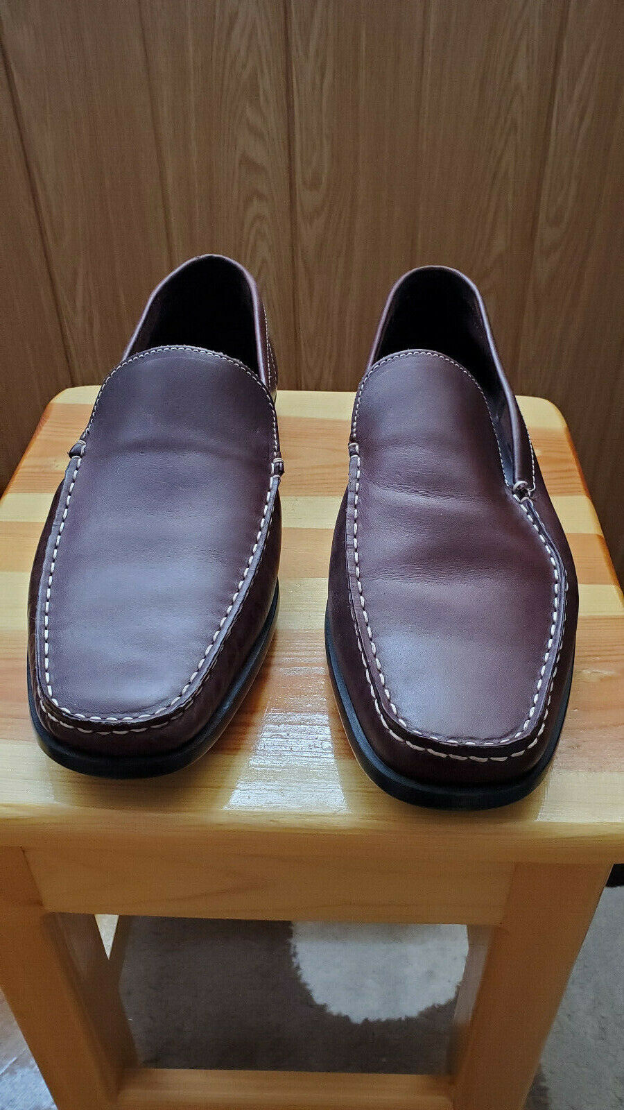 BANANA REPUBLIC RICH BROWN DRIVERS LOAFERS SIZE 13 D