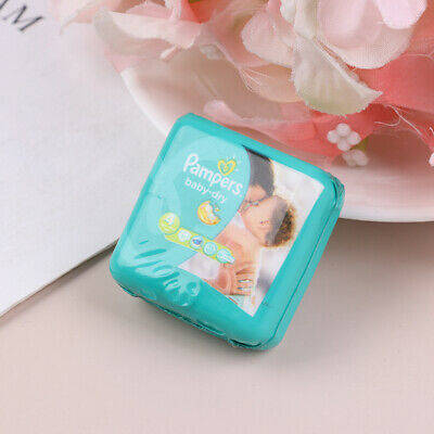 1//12 Dollhouse Miniature Baby Diaper Model For Dolls House Accessories Toy~ii
