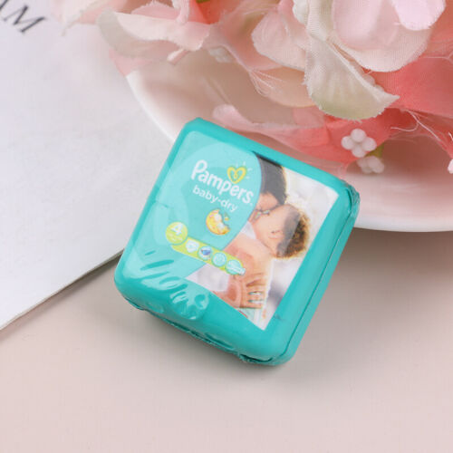 1//12 Dollhouse Miniature Baby Diaper Model For Dolls House Accessories IC