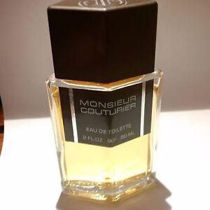 MONSIEUR-COUTURIER-60-ML-EAU-DE-TOILETTE-NOT-VAPO-RARE-AND-VINTAGE