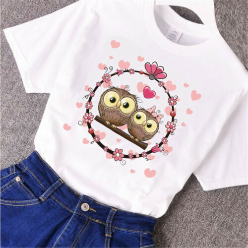 love owl heat transfer  iron on patch for clothes DIY clothing decor printing vb