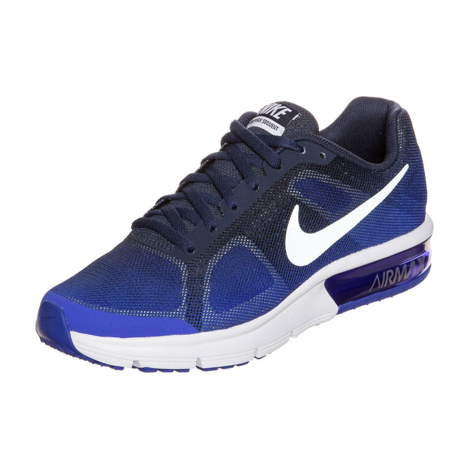 Girls Boys Juniors NIKE AIR MAX SEQUENT GS Trainers 724983 404 UK 5 EUR 38