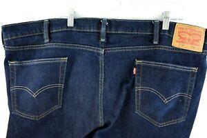 Levi S Red Tab 514 Blue Jeans De Hombre Tallas 46x30 Para Hombre Pantalones Remachada Ebay