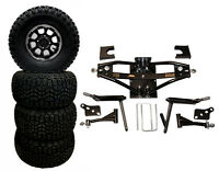 A-arm Deluxe 6 Lift Kit And Wheel Combo For Club Car Ds 1984 - 2003