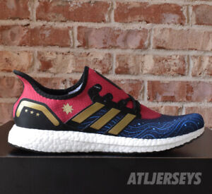Jen Bartel's CAPTAIN MARVEL Adidas Are Made for Stepping on