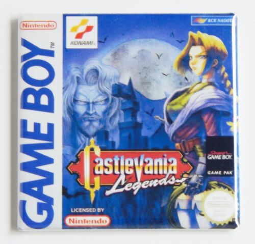 Castlevania Legends FRIDGE MAGNET video game box