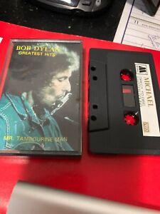 Bob-Dylan-Greatest-Hits-Mr-Tambourine-Man-Michael-957-Cassette-Tape-Rare