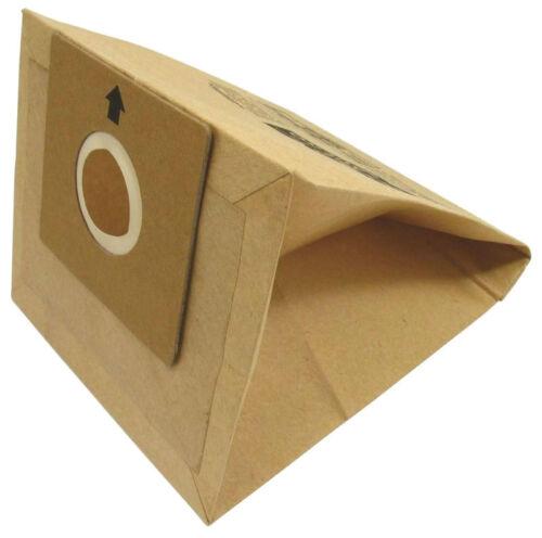 sac à poussière papier 32//051-5 Pack Argos Proaction /& plage de valeurs vc-401 /& cj021