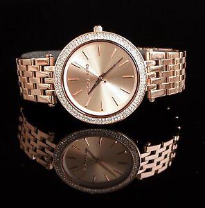 Original-Michael-Kors-Reloj-Mujer-MK3192-Darci-Acero-Inox-en-Color-Rose-Gold