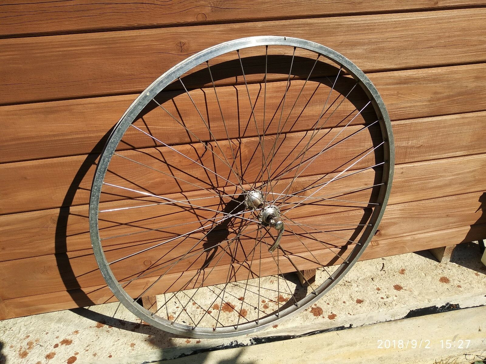 Campagnolo Record weinmann convex alloy rim 700c front wheel