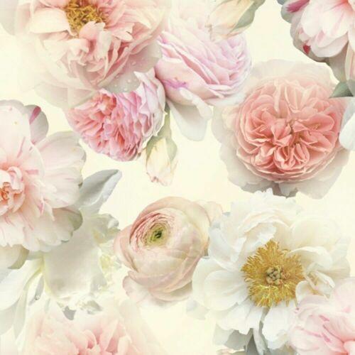ARTHOUSE DIAMOND BLOOM FLORAL FLOWERS TEXTURED VINYL LUXURY WALLPAPER 257000