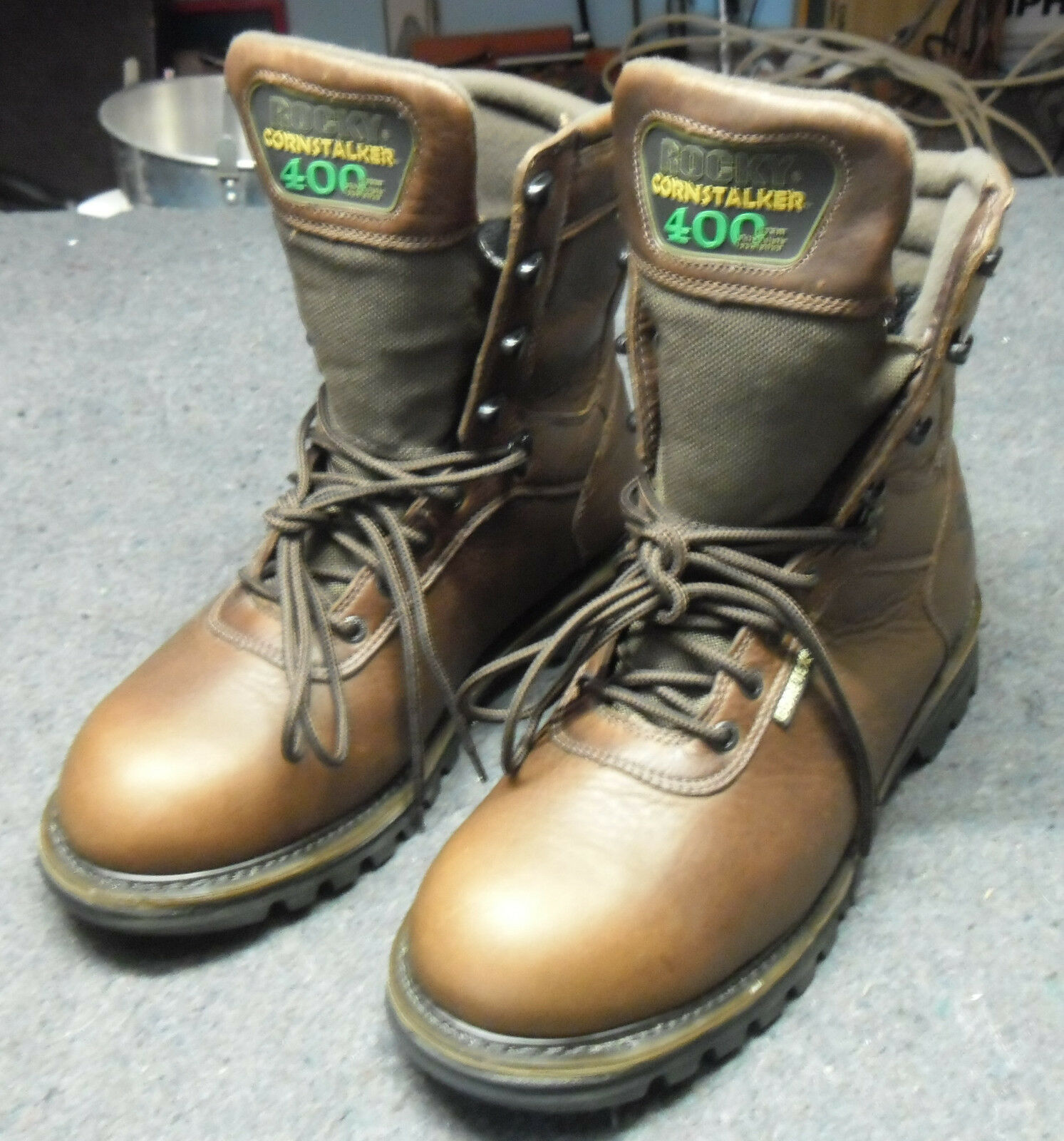 Mens Rocky Cornstalker 400 Gore-Tex Waterproof braun Hunting Hunting Hunting Stiefel Größe 11.5 NEW 0f2aa4