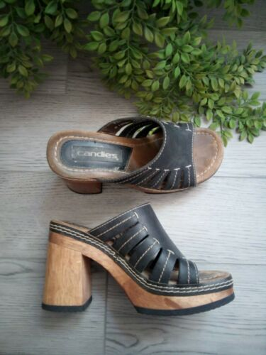 Vintage 90s Y2K Candies Chunky Platform Sandals Wo