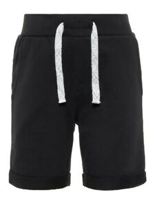 NAME-IT-Jungen-Sweat-Shorts-Jogginghose-NKMVermo-schwarz-Groesse-92-bis-164