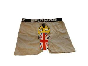 Boxer-Blomor-Pank-grey-melange-men-underwear-slip-sex-sexy-shop-london-size-S-ha
